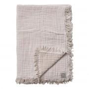 &Tradition Cotton Throw Deken Melk - 260 x 260 cm.
