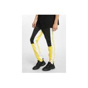 Sixth June / joggingbroek Color Block in geel - Heren - Geel - Grootte: Large