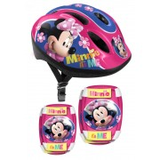 Set protectie 3piese casca ,genunchiere si cotiere Stamp Combo Minnie