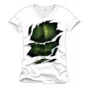CODI Hulk T Shirt Maglia Motivo Suit Size M Muscolatura Petto 100% Cotone