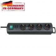 Brennenstuhl Primera-Line 4-es elosztósor 1,5m fekete 1153300124