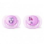 AVENT laža sthr soft 0-6m 4093 ( 2kom) za devojcice deco SCF227/20