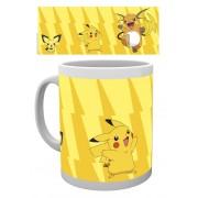 Cana Pokemon ORIGINAL Pikachu Evolve