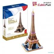 Puzzle 3D CubicFun CBF5 Turnul Eiffel