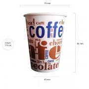 Art pahare automate carton 170 ml bax 3000 buc