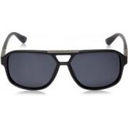 Daniel Klein Rectangular Sunglasses(Black)