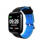 """Innjoo Reloj innjoo sport watch azul cuadrado/ 1.33""""/ 512kb rom/ 64kb ram/ bluetooth 4.0"""