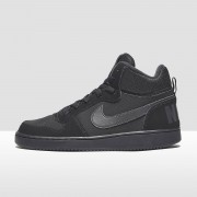 NIKE Court borough mid sneakers kids Kinderen - zwart - Size: 39