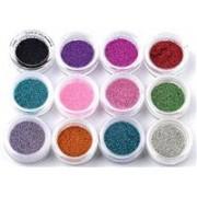 set 12 bilute caviar pentru constructie manichiura