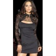 Mini abito mod. Sandy Black by Leg Avenue