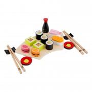 New Classic Toys Ensemble de sushi en bois