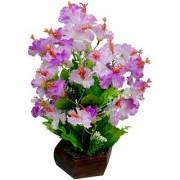 Orient Flowers Mart Purple Wood Artificial Flower