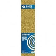 Haza Crepe alu papier glitter goud 150 x 50 cm knutsel materiaal