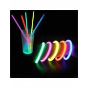 100 pulseras fluorescentes Única