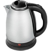ShopyBucket Classic Stainless Steel Electric Kettle For Hotel 1.8L 1.7L 1_6Patel Electric Kettle(1.8, Silver, Black)
