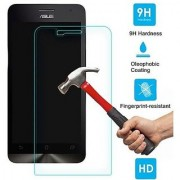 SCREEN CARE HD Crystal Clear Pro+ Anti-Scratch and Bubble free Asus Zenfone 4 Screen Protector /Tempered Glass 2017 Make.