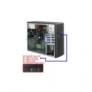 Server, SUPERMICRO CSE-732D4F-903B /DESKTOP/ BAREBONE