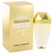 Lady Million Eau My Gold by Paco Rabanne Eau De Toilette Spray 2.7 oz