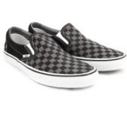Vans Classic Slip-On Loafers For Men(Black, Grey)