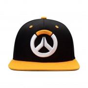 Overwatch, Snapback - Logo, Svart / Orange