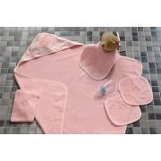 Tac - Set prosop Daisy Butterfly roz