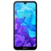 Смартфон Huawei Y5 2019 поддържа 2 sim карти, 5.71 инча (14.50 cm) FullView дисплей, четириядрен Mediatek MT6761, 6901443297368