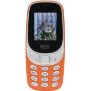 MTR MT3310 DUAL SIM MOBILE PHONE ORANGE COLOR