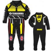 Motorcycle Baby grow babygrow Yamamma black Baby Race Suit new 2017