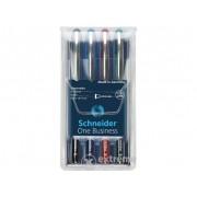 """Set roller Schneider """"One Business"""" 0,6 mm, 4 culori"""
