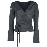 Alchemy England Dark Heart Damen-Langarmshirt S, M, L, XL, XXL, 3XL, 4XL Damen