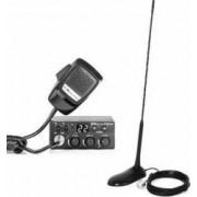 Kit Statie radio CB Midland M Zero Plus + Antena PNI Extra 45 cu magnet