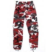 pantaloni bărbați US BDU - RED-CAMO - 200500_RED-CAMO