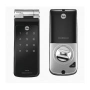 Assa Abloy Cerradura Inteligente con Teclado Touch YDF40, 30 Usuarios, Bluetooth