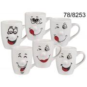 Cana ceramica Smile diverse modele