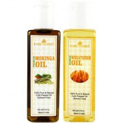 Park Daniel Premium Moringa oil and Wheatgerm oil combo of 2 bottles of 100 ml (200ml)