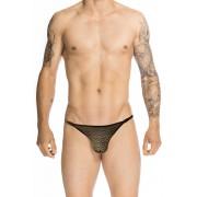 L'Homme Invisible Adriel String Striptease Thong Underwear Black MY83-ADR-001