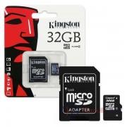 Kingston microSDHC 32GB SDCS/32GBSP - adapterrel