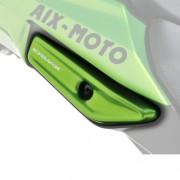 Grab Rail Covers Metallic Green for Kawasaki Z1000SX (11-16)