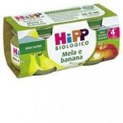 Hipp italia srl Omo Hipp Bio Mela Banana 2x80g