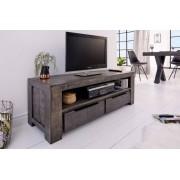 TV-Meubel Nairobi 130cm grijs Mango-hout