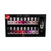 2K Let´s Get Colourful! zestaw Lakier do paznokci 19 x 3,5 ml dla kobiet