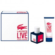 Lacoste Live Gift Set-EDT 100ml + Shower Gel 100ml за мъже