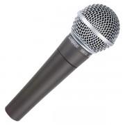 Microfon cu fir Shure SM 58 Metalic