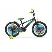 "Детско колело Ultra Kidy 20"" черно"