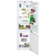 Combină frigorifică încorporabilă Liebherr ICP 3324, 274 L, SmartFrost, Siguranţă copii, SuperFrost, Iluminare cu LED, Display, Control taste, H 178 cm, Clasa A+++