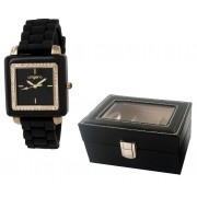 Elegant Time Gift Set Ceas Preziosa Ungaro si Cutie 3 Ceasuri
