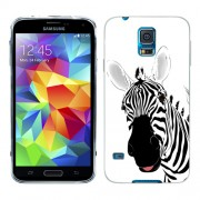 Husa Samsung Galaxy S5 Mini G800F Silicon Gel Tpu Model Zebra Desenata