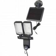 Napelemes DUÓ Prémium LED-lámpa SOL LV1205 P2 IP44 infravörös mozgásérzékelovel 12xLED 0,5W 480lm Kabel-hossz 4,75m Szinek antracit