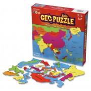 Puzzel GeoPuzzle Asia - Azië | GEOtoys
