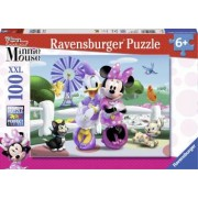 PUZZLE MINNIE SI DAISY 100 PIESE Ravensburger